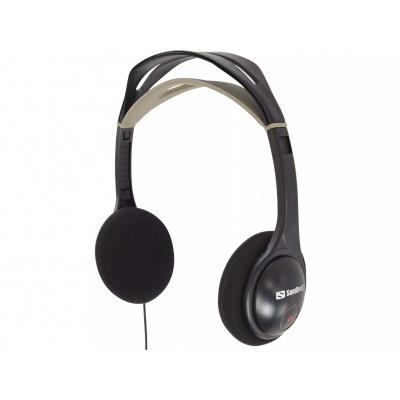 Sandberg sluchátka HeadPhone, černá