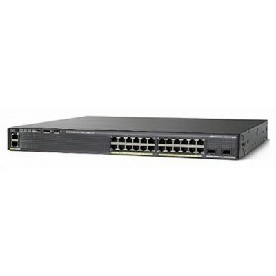 Cisco Catalyst 2960XR-24PS-I, 24x10/100/1000, 4xSFP, PoE