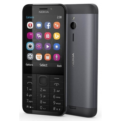 Nokia 230, Dark Silver