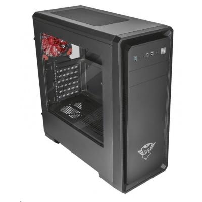 TRUST skříň GXT 1110 windowed mid-tower ATX PC case