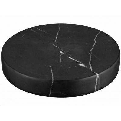 Sandberg podložka Marble Stone s bezdrátovým nabíjením Qi, USB-A, 10W, černá