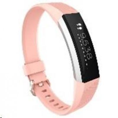 eses silikonový řemínek světle růžový ve velikosti S pro Fitbit Alta HR