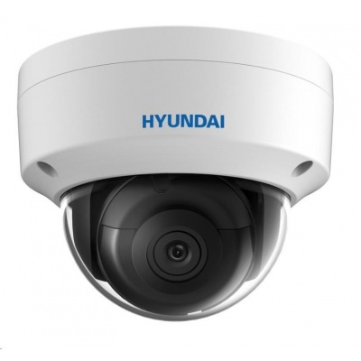 HYUNDAI IP kamera 4Mpix, H.265+, 25 sn/s, obj. 2,8mm (100°), PoE, IR 30m, IR-cut, WDR 120dB, microSD, analytika, IP67
