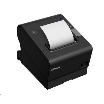 EPSON TM-T88VI pokladní tiskárna, RS232/USB/LAN, buzzer, černá, se zdrojem