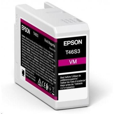 EPSON ink Singlepack Vivid Magenta T46S3 UltraChrome Pro 10 ink 25ml