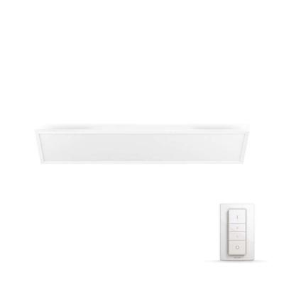PHILIPS Aurelle Světelný stropní panel, obdelník, Hue White ambiance, 230V, 55W integr.LED, Bílá