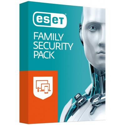 PROMO_10PK ESET Family Security Pack: Krabicová licencia pre 4 zariadenia na 18 mesiacov + IS OEM 1PC 1ROK