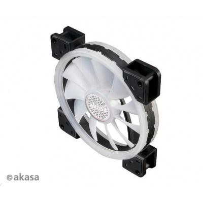 AKASA ventilátor Vegas TL, 140x140x25mm, Dual Sided, RGBW 12V