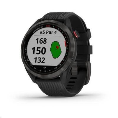 Garmin golfové hodinky Approach S42 Gray/Black Silicone