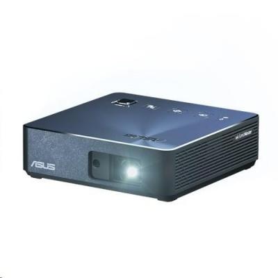 ASUS PROJEKTOR LED - ZenBeam S2 - 1280x720 - USB-C Portable, 500 lumens, Built-in 6000mAh battery, Auto F, MODRÝ