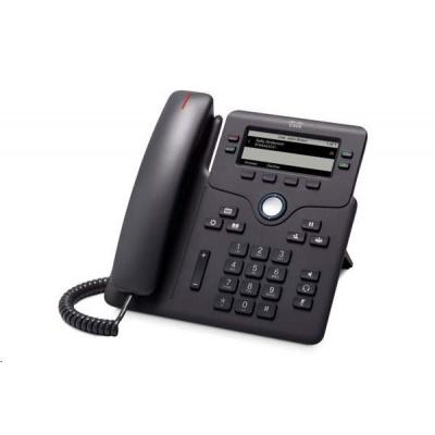 "Cisco CP-6851-3PW-CE-K9=, VoIP telefon, 4line, 3,5"" LCD, 2x10/100/1000, PoE, MPP, adaptér"