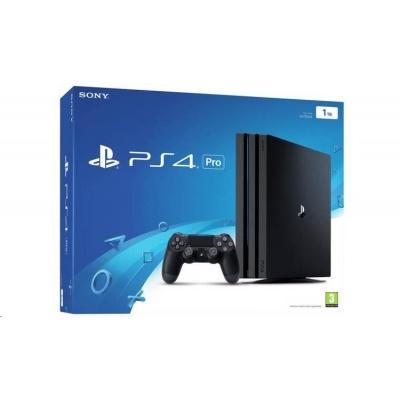 SONY PlayStation 4 Pro 1TB G/EAS - černý + Fortnite