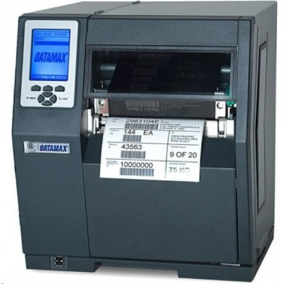 Honeywell H-6210, 8 dots/mm (203 dpi), odlepovač,rewind,RTC,display,PL-Z,PL-I,PL-B,USB,RS232,LPT,Ethernet