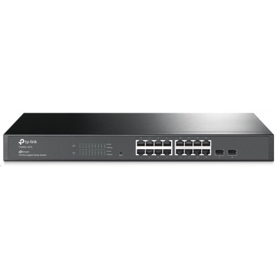 TP-Link T1600G-18TS(TL-SG2216) [Gigabitový chytrý switch JetStream se 16 porty a dvěma sloty SFP]