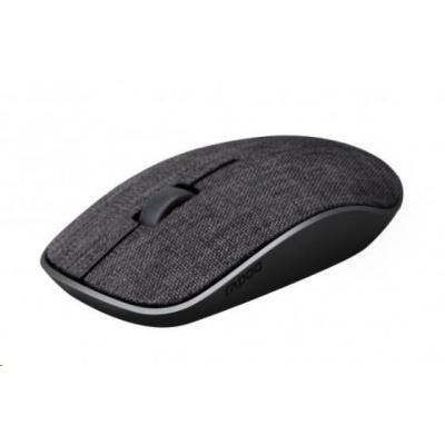 RAPOO myš 3510 plus, optická, bezdrátová, 2.4G, černá