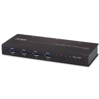 ATEN USB 3.1 Gen1 Industrial přepínač periferií 4:4 US3344I