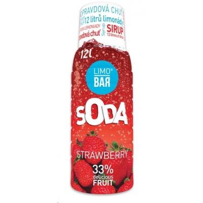 LIMO BAR - sirup Strawberry 0,5l