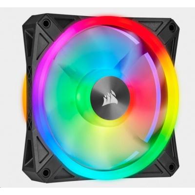 CORSAIR ventilátor QL Series QL120 RGB LED, 1x 120mm, 26dBA