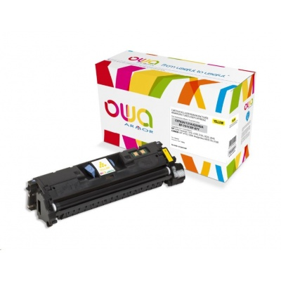 OWA Armor toner pro HP Color Laserjet 1500, 2500, 2550, 2820, 2840, 4000 Stran, C9702A,Q3962A, žlutá/yellow