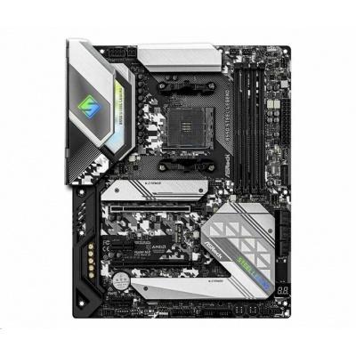ASRock MB Sc AM4 B550 Steel Legend, AMD B550, 4xDDR4, HDMI, DP