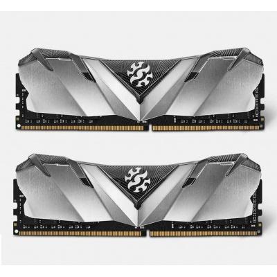 DIMM DDR4 16GB 3600MHz CL16 (KIT 2x8GB) ADATA XPG GAMMIX D30 memory, Dual Color Box, Black