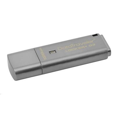 Kingston 128GB USB 3.0 DT Locker+ G3 + Automatic Data Security
