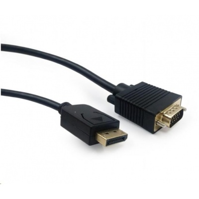 GEMBIRD Kabel CABLEXPERT DisplayPort na VGA, M/M, 1,8m