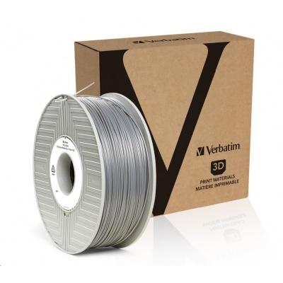 VERBATIM 3D Printer Filament PLA 1,75mm ,335m, 1kg silver/metal grey (55275)