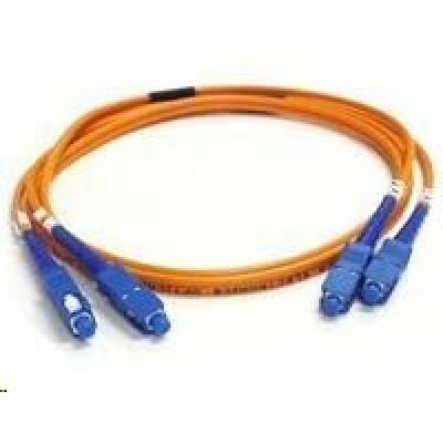 Duplexní patch kabel MM 50/125, OM2, SC-SC, LS0H, 1m