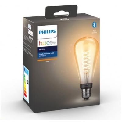 PHILIPS Hue White Filament Edison large 7W E27 ST72 DIM