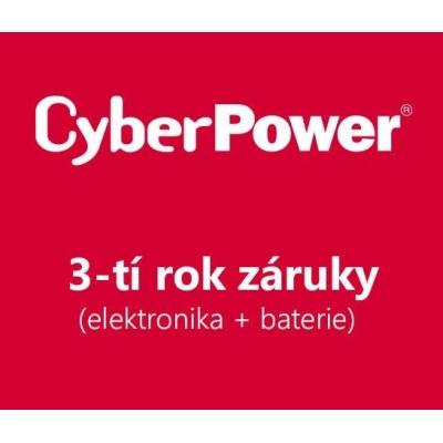 CyberPower 3-tí rok záruky pro BP100-12V