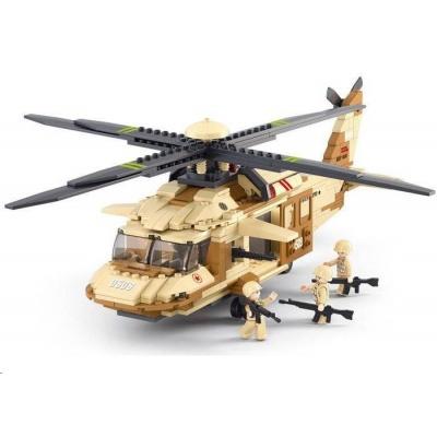Sluban B-0509 Podpůrná helikoptéra 439 dílků
