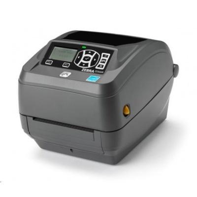 Zebra ZD500R, 8 dots/mm (203 dpi), odlepovač, RTC, RFID, ZPLII, BT, Wi-Fi, multi-IF (Ethernet)