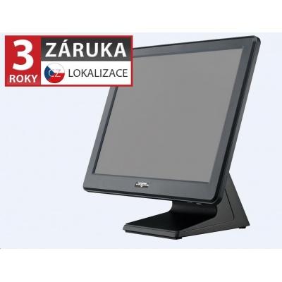 """Virtuos AerPOS PP-9635AV,15""""LCD LED350, 4GB RAM, rámeček, černý - bez HDD"""