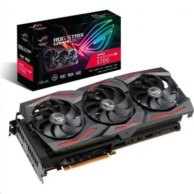 ASUS VGA AMD Radeon™ ROG-STRIX-RX5700-O8G-GAMING, 8GB GDDR6, 1xHDMI, 3xDP
