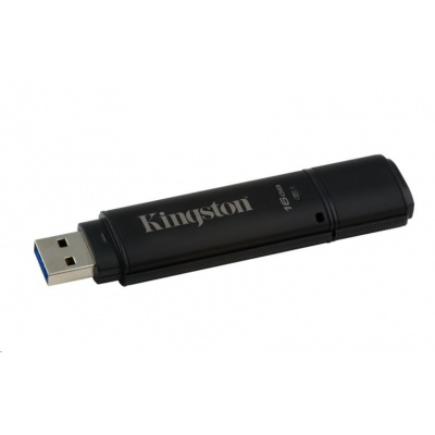 Kingston 16GB DataTraveler 4000 G2DM (USB 3.0, 256-bit šifrování AES)