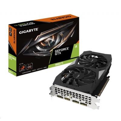 GIGABYTE VGA NVIDIA GeForce GTX 1660 Ti OC 6G, 6GB GDDR6, 1xHDMI, 3xDP
