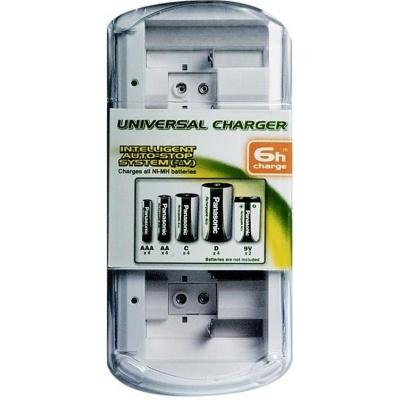 PANASONIC Univerzální nabíječka BQ-CC15E/1B  (bez baterií) AA/AAA +/- 3-8h (Blistr 1ks)