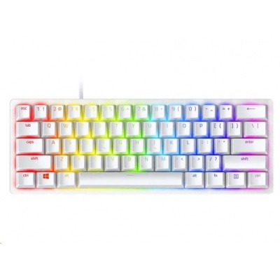 RAZER klávesnice Huntsman Mini - Mercury Ed. (Purple Switch) - US Layout