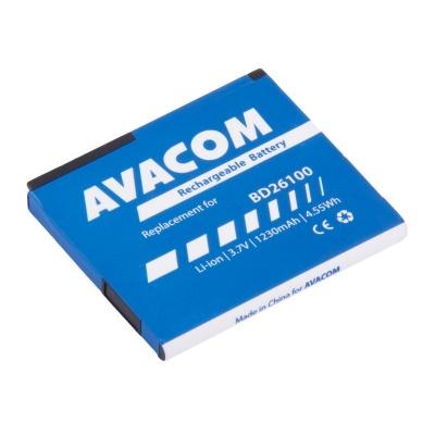 AVACOM baterie do mobilu HTC Desire HD, HTC Ace Li-Ion 3,6V 1230mAh (náhrada BD26100)
