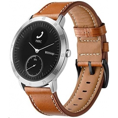Withings Accessory Leather Sport Wristband (20mm) for Steel HR Sport - Brown