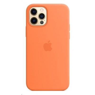 APPLE iPhone 12/12 Pro Silicone Case with MagSafe - Kumquat