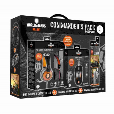 Konix WoT Commander's Pack pro PC