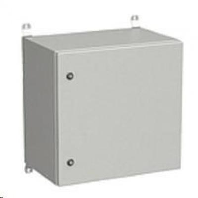 Solarix rozvaděč nástěnný venkovní LC-20 12U 600x500mm, dveře plech, LC-20-12U-65-21-G