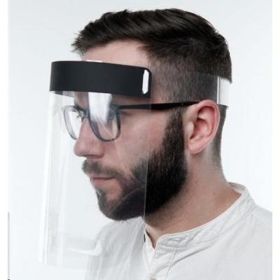 3mk ochranný štít Helmet Pro, sklopný, celoobličejový
