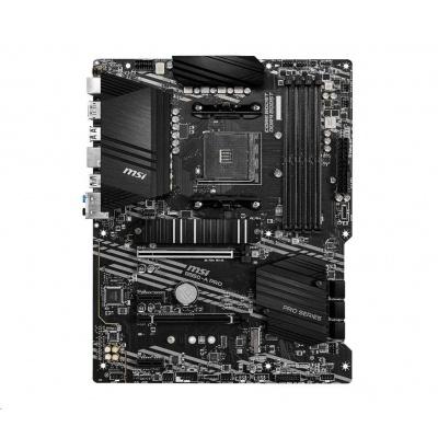 MSI MB Sc AM4 B550-A PRO, AMD B550, 4xDDR4, VGA, ATX