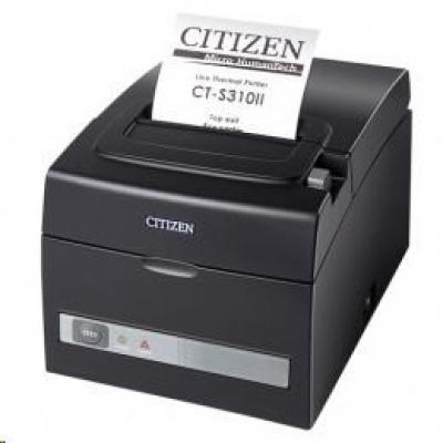 Citizen CT-S310II, Dual-IF, 8 dots/mm (203 dpi), cutter, white