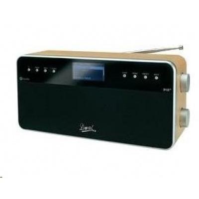 CONRAD Internetové a DAB+ rádio Dual IR 6S, černá