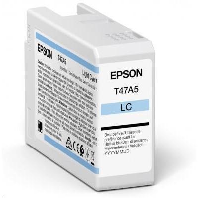 EPSON ink Singlepack Light Cyan T47A5 UltraChrome Pro 10 ink 50ml