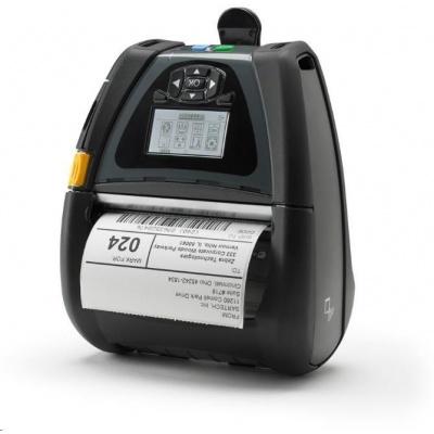 Zebra QLn420, USB, RS232, BT, NFC, 8 dots/mm (203 dpi), linerless, RTC, display, ZPL, CPCL
